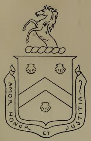 Bayard family - Image: Bayard Coat of Arms