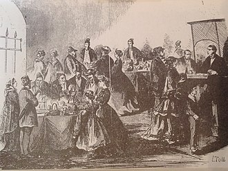 Bagne of Toulon - The Bazaar which sold handicrafts by prisoners
