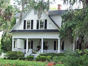 National Register of Historic Places listings in Horry County, South Carolina - Image: Beaty Spivey House Jun 10