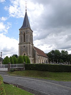 Beaufour-Druval Commune in Normandy, France