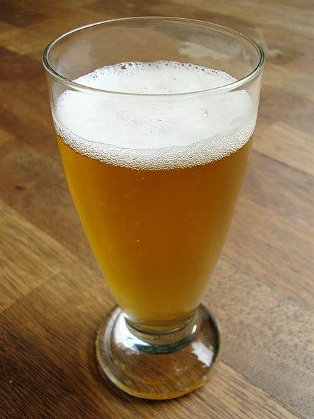 File:Belgian beer glass.jpg