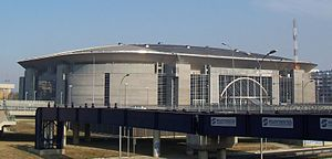 UEFA Futsal Euro 2016 - Image: Belgrade Arena south west
