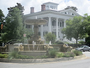 Wilmington, North Carolina - The Bellamy Mansion draws many tourists annually to downtown Wilmington.