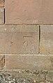Benchmark at Rocklands Lodge, Thornton Hough.jpg