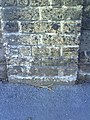Benchmark on wall of Rowan Cottage, Prince of Wales Road - geograph.org.uk - 2084418.jpg