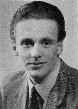 Bengt Blomgren ud af et programplaster fra Göteborgs stadsteater sæsonen 1946-1947.