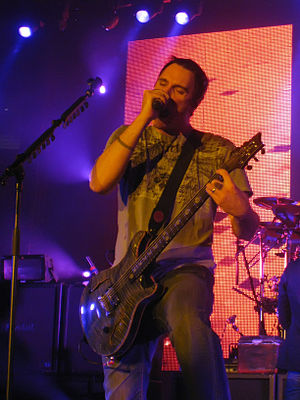 Benjamin Burnley - Burnley performing in February 2009
