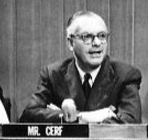 Atlas Shrugged - Random House CEO Bennett Cerf oversaw the novel's publication in 1957.