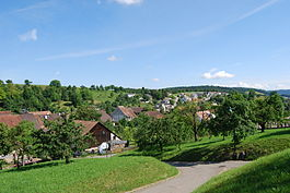Skyline of Bennwil
