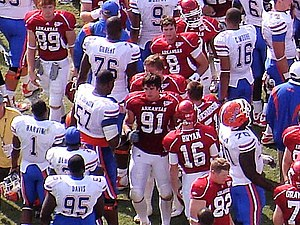 Jake Bequette - Image: Bequette, UF at UA, 2008
