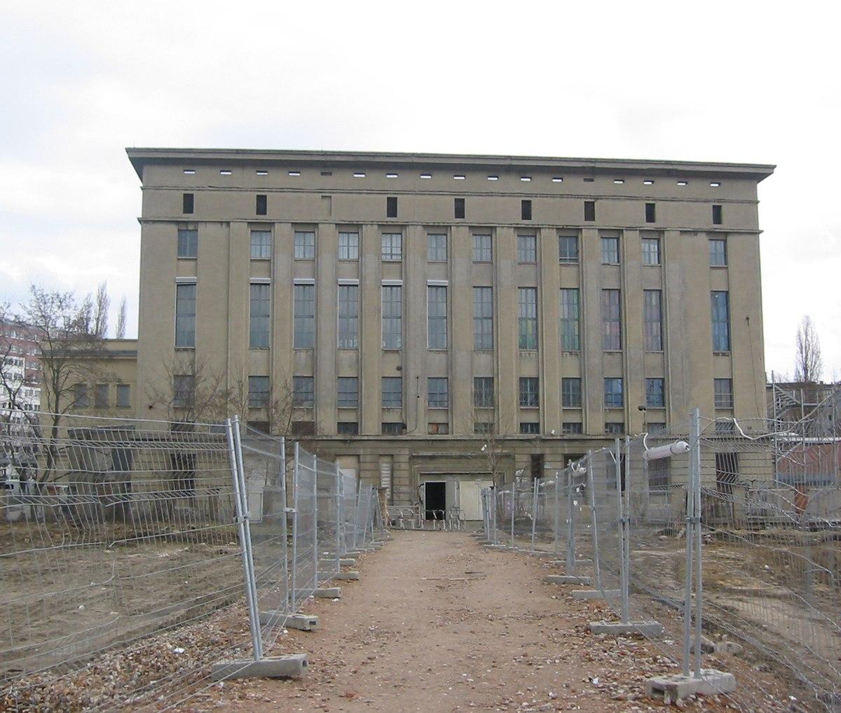 Berghain i Berlin levende sexe