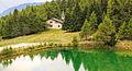 Bergtocht van Homene Dessus naar Vens in Valle d'Aosta. Lac du Joux (1930m) boven Vens in Valle d'Aosta 047.jpg