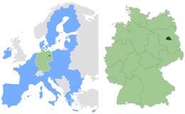 Berlino – Localizzazione