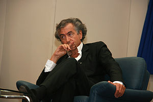 Bernard-Henri Lévy - Bernard-Henri Lévy at Tel Aviv University