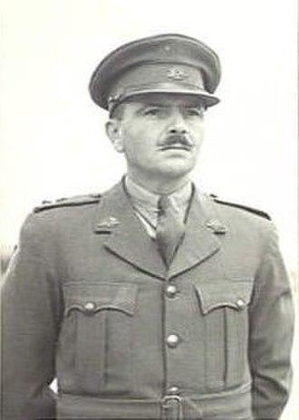 Bernard Evans (architect) - Lt Col Bernard Evans in January 1942