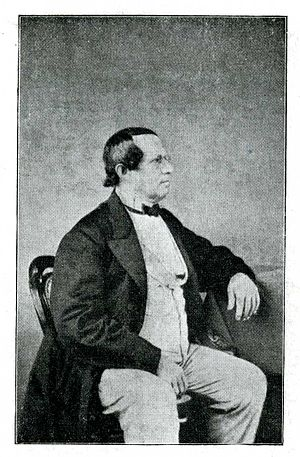 English: Portrait of Bernhard Molique.