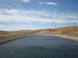 Bethany Reservoir - Bethany Reservoir and aqueduct