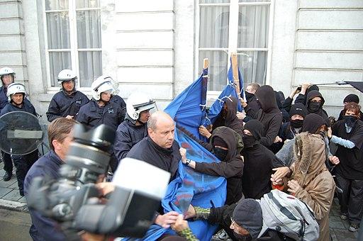 Betoging krakers Leuven Indymedia 14
