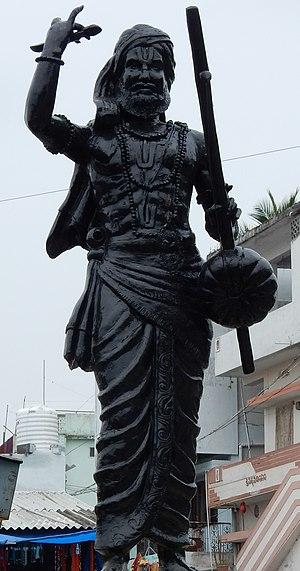 Kancherla Gopanna - Kancharla Gopanna Statue at Bhadrachalam
