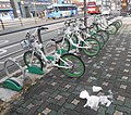 Bicycle-sharing station in Seoul 4.jpg