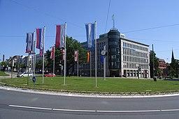 Willy Brandt Platz in Bielefeld