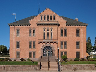 Big Stone County, Minnesota - Image: Big Stone County Courthouse