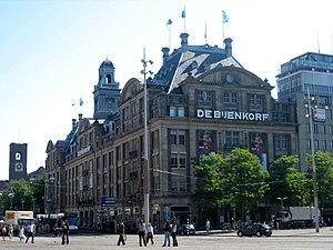 Flagship store of Dutch retailer De Bijenkorf ...