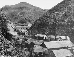 Bingham Canyon in 1914