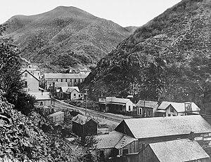 Bingham Canyon, Utah - Bingham Canyon in 1914