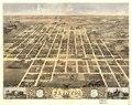 Bird's eye view of the city of Clinton, DeWitt County, Illinois 1869. LOC 73693351.tif