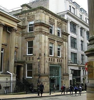 William Harris (Birmingham Liberal) - Extension to the Birmingham Banking Company building, Bennetts Hill, Birmingham, built 1881–4