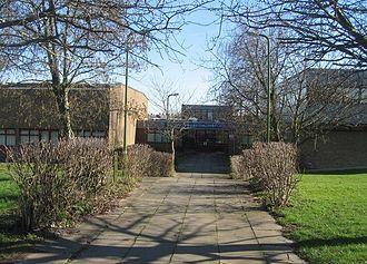 Bishop Challoner Catholic Secondary School - Main entrance
