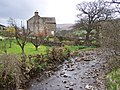 Bishopdale Beck by Ribba Hall - geograph.org.uk - 159005.jpg