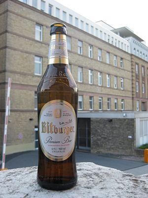Bitburger Brewery - A Bitburger Pilsner