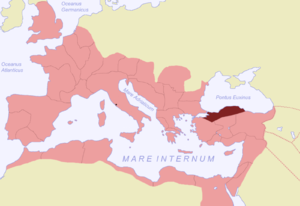 Pliny the Younger on Christians - Location of  Bithynia et Pontus within the Roman Empire