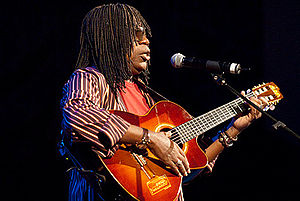 Milton Nascimento - Milton Nascimento during a performance.