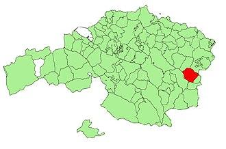 Mallabia - Image: Bizkaia municipalities Mallabia