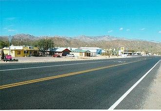 Black Canyon City, Arizona - Old Black Canyon Hwy.