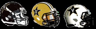2012 Vanderbilt Commodores football team - In 2012 Vanderbilt introduced a new all white helmet.
