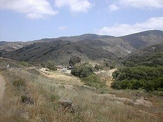California Historical Landmarks in Orange County - Image: Blackstar hidden ranch