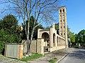 Blick auf den Glockenturm Bornstedter Friedhof.JPG