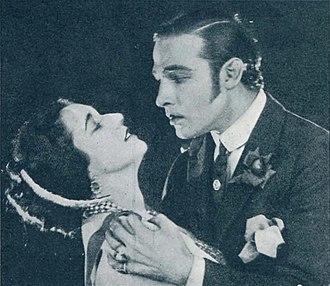 Nita Naldi - Naldi and Valentino in Blood and Sand, 1922