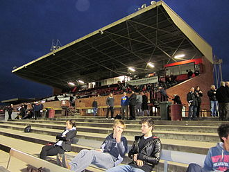 West Adelaide Football Club - The B. K. Faehse Stand at Richmond Oval