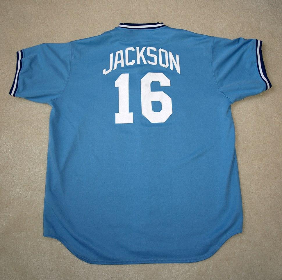 Bo Jackson 1989 Kansas City Royals uniform