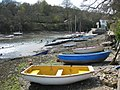 Boats on the foreshore by Porth Navas quay - geograph.org.uk - 760650.jpg