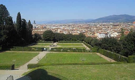 Boboli, Prato di Ganimede