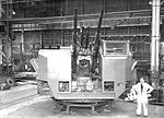Bofors Gun Mounting at the Scotswood Works (19077237389).jpg