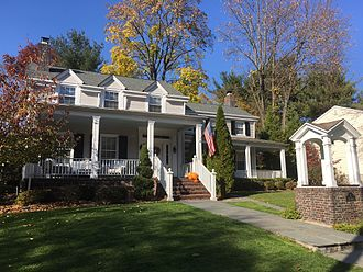Westwood, New Jersey - 2 1st Ave Westwood NJ Built in 1773.  Owned by the Bogert family till 1910.  currently owned by the Sandt Family.
