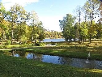 Bogstad - Bogstad gård at Bogstadvannet in  Sørkedalen