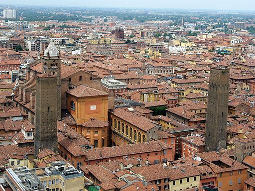Bologna-San Pietro visto dalla Torre degli Asinelli